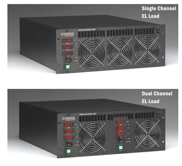 EL Load, Single and Dual Channel models